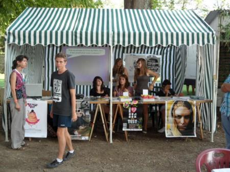 Stand de Prév. RESAIDA - Nuits Atypiques 2011 - animé par les jeunes
