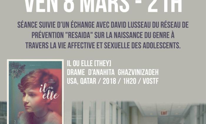 Affiche Ciné-Débat -Il ou Elle-